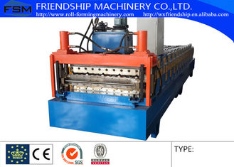 Corrugated Sheet Double Layer Roll Forming Machine For Roof Panel