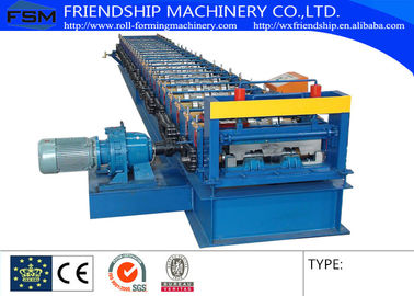 1.2-2.5mm Thickness GI Metal Deck Roll Forming Machine With 15kw Motor