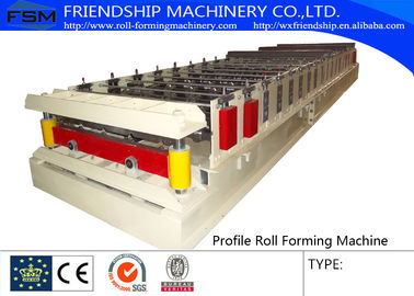 15m/min 0.4-0.8mm Thickness Color Steel Roof Wall Panel Roll Forming Machine With Pansonic Electric  PLC Control