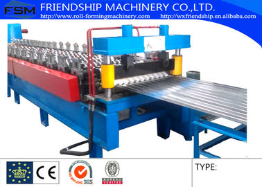 19mm Hieght 762mm Width Corrugated Sheet Roll Forming Machine Used 1250mm Coil