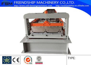 PLC Control 0.6-1.0MM Thickness Color Steel Roof Panel Roll Forming Machine Used 1000MM Coil