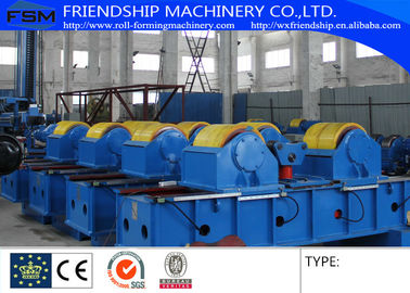 Fit Up Rolls Welding Rotators Welding Machine For Align And Assembling Shell To Shell