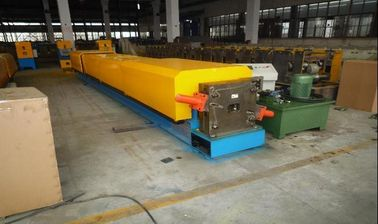 China Rectangular Down Pipe Roll Forming Machinery Aluminum Coil supplier
