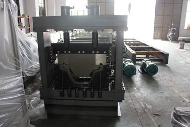 Big Span Roof Panel Roll Forming Machine With Curver And Seamer