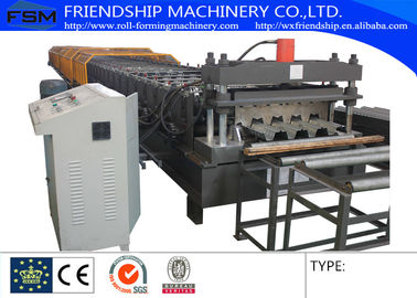 China Automatic 28 Stations And 10T Manual Decoiler Roll Forming Machine With 1.5MM - 2.5MM supplier