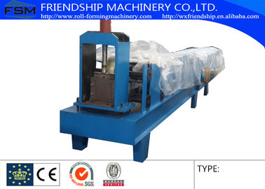 Hydraulic Cutting Type Eave Gutter Roll Forming Machine Use 0.5-0.8mm Thickness Color Steel