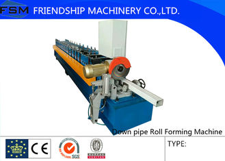 Downspout Roll Forming Machine with 16 Stations and 12m/min Rolling Speed