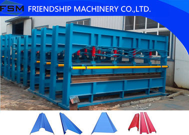 Hydraulic Plate Bending Roll Forming Machine for Factory / Warehouse / Garage