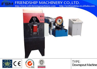 Color Steel Round Down Pipe Roll Forming Machine With PLC Control