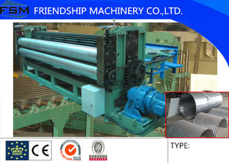 5m/min Metal Steel Culvert Pipe Making Machine Water Conservancy Project 1250mm Width