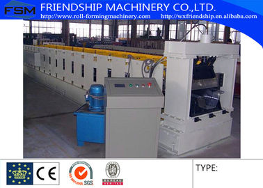 0.8-1.5mm Thickness Arch Sheet Roll Forming Machine YX914-610 With 4.0 KW Hydraulic Cutting
