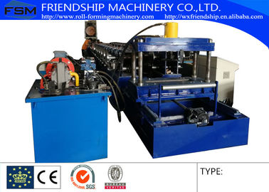 Automatic 300 Mm - 800 Mm Width Cable Tray Roll Forming Machines With 300 Ton Press Machine