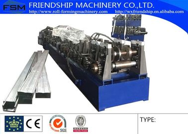 GI 1 MM Thickness Box Beam Roll Forming Machinery For Making The Shelf Beam