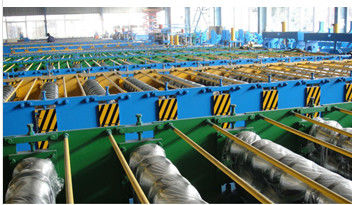Metal Deck Steel Roll Forming Machine With Hydraulic Station And 10T Decoiler