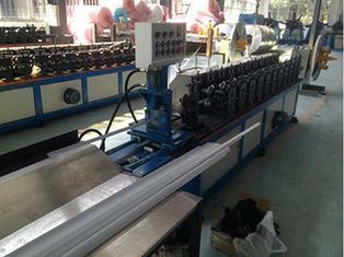 High Speed 3 Phase Metal Roll Forming Machine With Chain Transmission