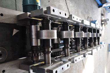 10 Steps Forming Station Stud Roll Forming Machine For Roof Truss / C Stud