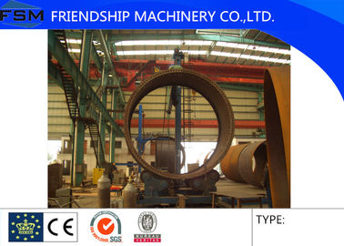 Automatic Seam Welding Manipulator / Welding Column And Boom For Pipe System