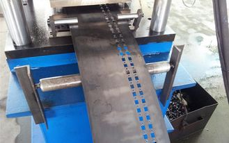 1.5mm - 2.0mm Forming Thickness Rack Roll Forming Machine , 12 m/min -15 m/min Working Speed