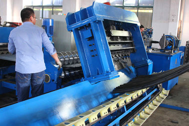 30 kw Motor Corrugated Sheet Roll Forming Machine With Non - stop Tracking Punching