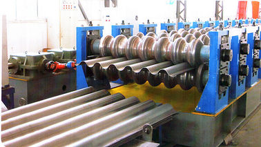 Bunkers Corrugated Sheet Roll Forming Machine For Drainage Channels
