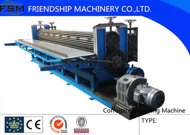 Thin Steel 0.15-0.3mm Thickness Corrugated Sheet Roll Forming Machine Rotary Drum Type