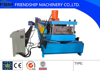 100 - 800 mm Size Galvanized Cable Tray Roll Forming Machine With Hydraulic Punching Part System