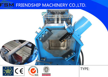200mm width Small Cable Tray Roll Forming Machine with Hydraulic Cutting Blade