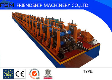2.0mm Thickness GI 41x41mm size Solar Rack Roll Forming Machinery Used For Photovoltaic stents