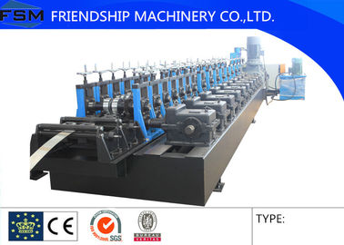 size 41x41 Solar Rack Roll Forming  Machinery For 1.5 - 2.0mm Thickness GI And Stainless Steel