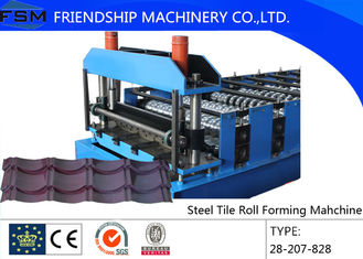 Roof Tile Roll Forming Machine With Light Weight for Modern Architecture Roofing
