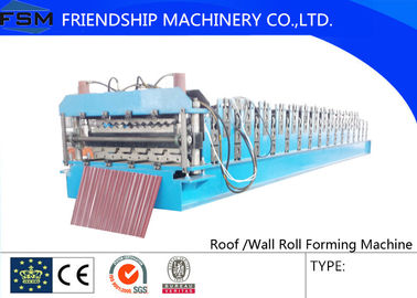 Pre - painted Steel Roof Roll Forming Machine with 0.3 mm - 1.0 mm Thickness