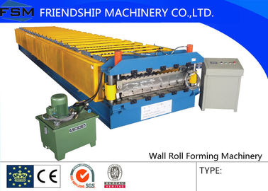 3Phase Control Panel Wall Roll Forming Machinery 380 V 50 Hz With 7.5 KW