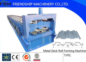Portable Manual Floor Deck Roll Forming Machines for Interior Wall Board