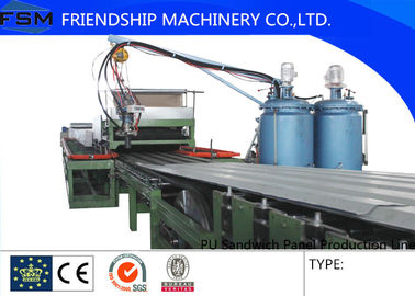 Simple Automatic PU Sandwich Panel Production Line for 25-100mm