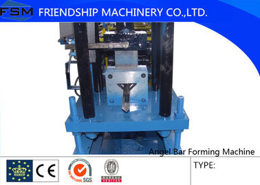 Wall Angle Metal Roll Forming Equipment 45﹟ Forge Steel