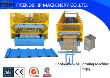 High Speed Roll Forming Machinery Roofing And Claddings