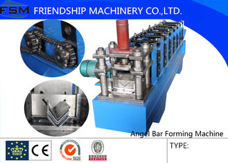 Steel Angle Roll Forming Machinery For Roof Structure / Roll Forming Machine