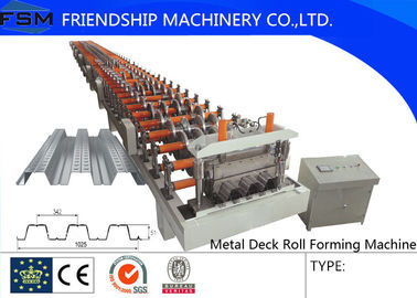 620/700/914mm Covered Width Floor Deck Roll Forming Machinery With 5.5KW Hydraulic Power And 12Mpa