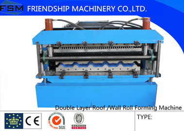 High speed Roof Panel Roll Forming Machine , Metal Forming Tools