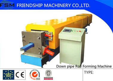 Automatic Custom Downspout / Down Pipe Roll Forming Machine For Rain Pipe