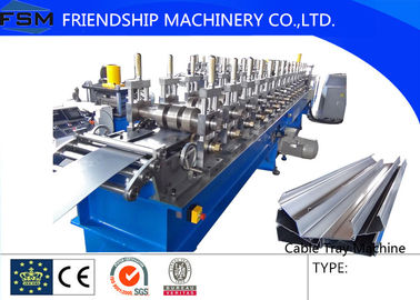 Manual 22KW Cable Tray Roll Forming Machine 3Phase with 6 Tons