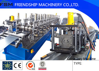 Cold Rolled Steel Cable Tray Forming Machine 12 m/min For 1 mm