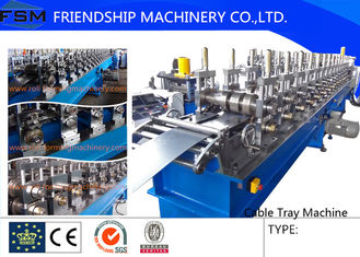 22KW Cable Tray Roll Former Machine High Speed 5 m/min - 10 m/min