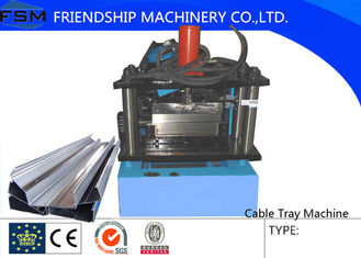 200mm - 950mm Cable Tray Cable Ladder Forming Machine With PLC Control System