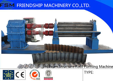 0.5mm—6mm,7.5KW Steel Tile Corrugated Sheet Roll Forming Machine For Exhibition Center