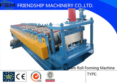 3 Phase Standing Seam Roll Forming Machine With Motor 7.5kw  50hz 380v