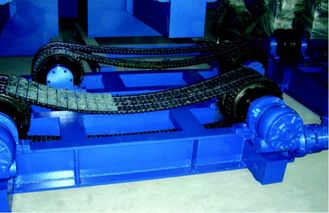 Welding Turning Roll Rotators With Chain Or Belt Conventional Welding Rotator