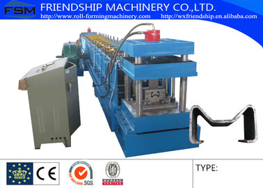 Q195 - Q 235 6MM Thickness C Purlin Roll Forming Machine For Sigma Shape Steel Purlin