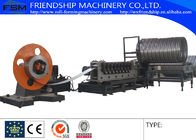 China Auto Spiral Culvert Pipe Making Machine with 9 Forming Stations used in water conservancy project company