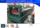 China 1.2-2.0mm Thickness Galvanized Steel Metal Deck Roll Forming Machine With 900mm Width 3Phase company